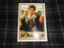 DEALER Scarface Cocaine Dealer Serial Killer skateboard sticker ink error