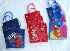 12 pcs SESAME STREET ELMO Party Favor Goody Gift Bag Birthday Supply