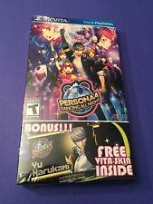 Persona 4 Dancing All Night *Launch Edition* (PS VITA) NEW