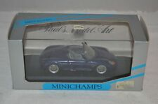 Minichamps #063131 Porsche Boxter irisblau 1:43 mint in box