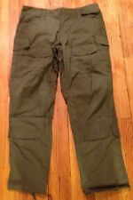 CRYE PRECISION G-3 ALL WEATHER FIELD PANT ODT Green 36R - Slightly IRR