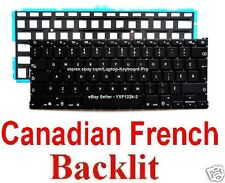 Apple MacBook Air Keyboard - A1369 A1466  - CF - Canadian French - Backlit