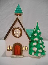 Dept 56 Snow Village Christmas --- Town Church 50717 --- RETIRED - RARE