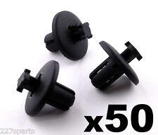 50x 8mm Plastique Clips Garniture Peugeot 307 607 & 807 Passage De Roue