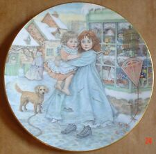 Royal Worcester Compton And Woodhouse LOVE NSPCC Christmas Plate 1987