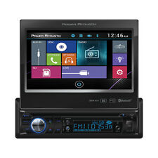 "NEW Power Acoustik PD-724B 1 DIN CD/DVD/MP3 Player 7"" Bluetooth SD USB Inputs"