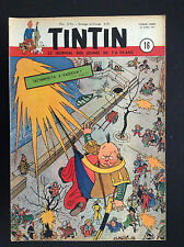 Fascicule périodique Journal Tintin N° 16 1951 TBE Laudy