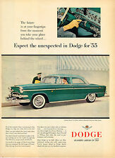 Vintage 1955 Magazine Ad Dodge Expect The Unexpected In Dodge For '55