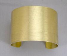 2 Inch Gold Anodized Aluminum Cuff Bracelet Blanks /Dozen