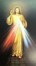Lot of 50 Jesus Christ Divine Mercy Holy Card Prayer-Blessed by Pope on request