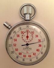 CAMERO STOPWATCH Vintage Shock-Protected 7 Jewels UNBREAKABLE Mainspring