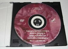 2015 LATEST Ford Lincoin Mercury NAVIGATION DVD MAP UPDATE 13P 2006-2009