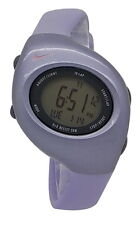 New Nike Triax 10 Regular WR0006 Purple Digital Chronograph Sports Watch