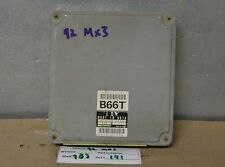 1992 Mazda MX3 MX-3 Engine Control Unit ECU B66T18881A Module 41 9B3