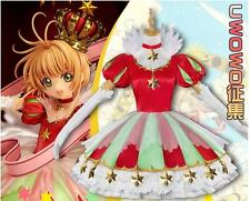 Clamp Card Captor Sakura Dress Cosplay Costume Lolita Crown GSC15 Anniversary