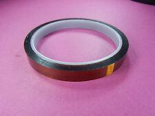 High Temperature Resistant tape Kapton 33m long 10mm wide Polymide