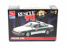 AMT 6417 1:25 Rescue 911 Ford Taurus Police Car Kit MISB 1993 USA Made