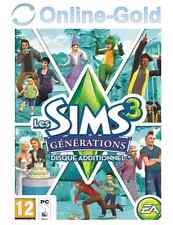 Les Sims 3 - Générations (extension) Clé - EA Origin Carte - PC Jeu - FR