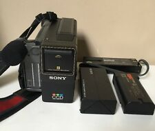 Vintage Sony Video Camera Recorder Camcorder Ccd M8E Video 8 Working