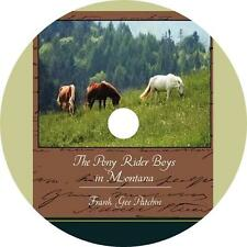 Pony Rider Boys in Montana Frank G Patchin Western Audiobook Fiction 1 MP3 CD