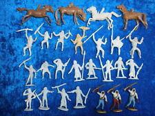 Konvolut 26 Merten Kunststoff Figuren Rohlinge Beduinen 4cm