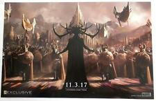 SDCC 2016  EXCLUSIVE  Marvel  THOR  2017  Poster 13 x 20