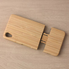 Hot Sale Nature Bamboo Wood Case For Sony Xperia Z2 Phone Hard Back Cover Cases