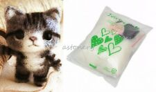 Wool Felting Craft Needle Felt Animal Kit Set - Lovely Mini Cat