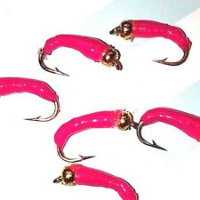 Pink Trout Buzzers Trout Lures Trout Nymphs Fly Fishing Trout Flies