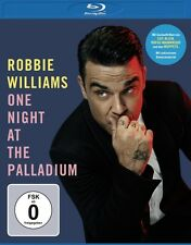 ROBBIE WILLIAMS - ROBBIE WILLIAMS-ONE NIGHT AT THE PALLADIUM BD  BLU-RAY NEU