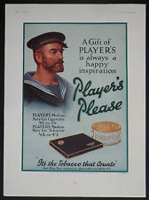 Player's Navy Cut Cigarettes Player's Tobacco 1930 Advertisement Ad 8334
