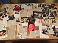 BLONDIE / DEBBIE / DEBORAH HARRY ORIGINAL CUTTINGS/ CLIPPINGS