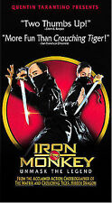 Iron Monkey VHS English Version - Donnie Yen Yuen Woo-ping - Unmask The Legend