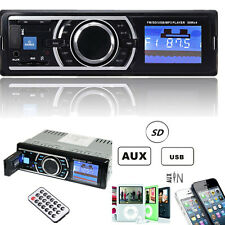 Car Stereo Audio In-Dash Aux Input Receiver with SD USB MP3 FM Radio Player US