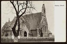 ORIGINAL POSTCARD ST PETERS CHURCH CHALVEY BUCKINGHAMSHIRE POSTED SLOUGH 1904