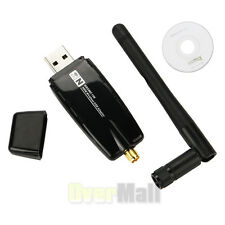 300Mbps USB Wireless Adapter WiFi Lan Network Card IEEE 802.11b/g/n  Antenna