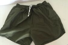 USMC SOFFE PT MARINES Green TRUNKS  SHORT MARINES Men's Sz  Med Great ��