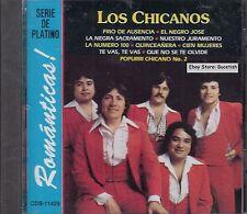 Los Chicanos Romanticas Serie de Platino CD Nuevo