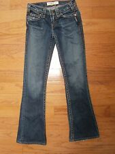 Womens Jrs. 1921 Western Glove Works Jeans 24/29 Boot Cut Low Rise Flap Pockets