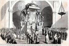 Messina,Duomo: Te Deum per Vittoria di Reggio Calabria.Spedizione dei Mille.1860