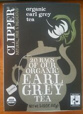 Clipper Tea Organic Earl Grey Tea  -- 20 Tea Bags