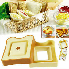 DIY Kitchen Gadgets Sandwich Maker Cutter Toast Box Cake Rice Roll Mold Bento