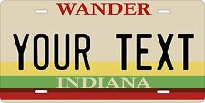 Indiana 1985 license plate Tag Personalized Auto Car Custom VEHICLE OR MOPED