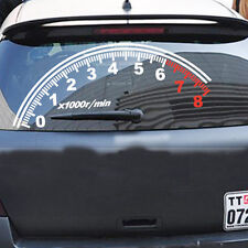 Auto Odometer Speedometer Windshield Reflective Car Stickers Decor Vinyl Decal