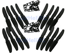 GemFan 5030 5x3 BLACK MultiRotor propeller CW, CCW Mini 250mm Quadcopter (16pcs)
