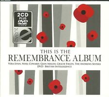 THIS IS THE REMEMBRANCE ALBUM 2 CD'S + BRITISH INTELLIGENCE DVD