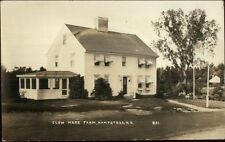 Hampstead NH Clow Mere Farm Real Photo Postcard
