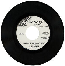 "P. W. CANNON  ""BEATING OF MY LONELY HEART""   DEMO   NORTHERN SOUL  LISTEN"""