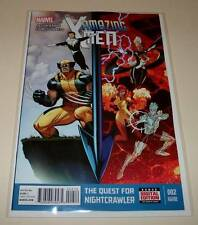 AMAZING X-MEN # 2  Marvel Comic  May 2014   NM  2nd PRINTING VARIANT COVER