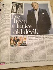 ROBERT VAUGHN interv/w JACK DONNELLY UK 1DAY ISSUE 2013 MARK GATISS DIANA WESTON